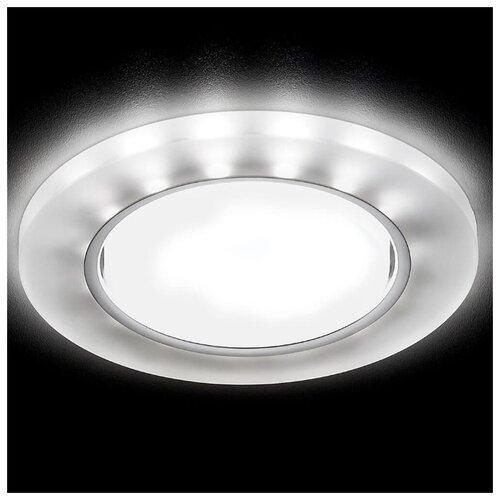 Фото - Встраиваемый светодиодный светильник Ambrella light GX53 LED G214 CH/WH светильник светодиодный ambrella light s219 wh ch wh