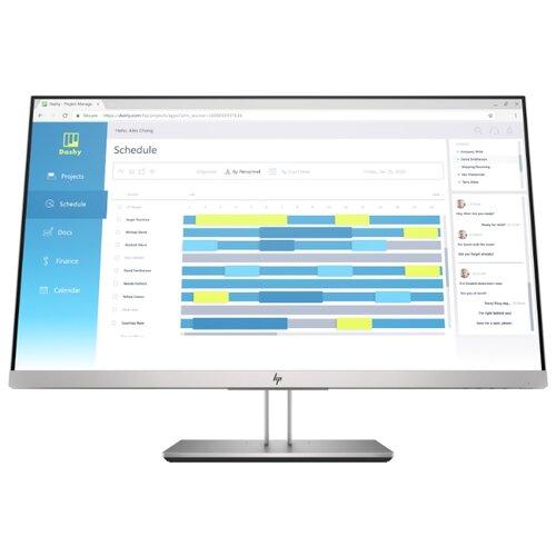 Монитор HP EliteDisplay E273d 27 серебристый/черный монитор hp pavilion 32 hdr 32