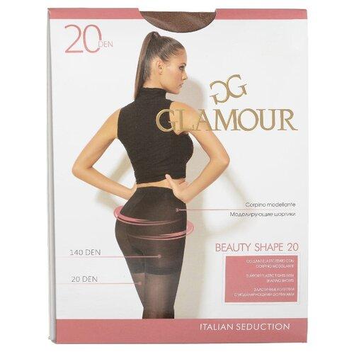 Колготки Glamour Beauty Shape 20 den, размер 2-S, daino (бежевый) колготки glamour beauty shape 40 den размер 4 l daino бежевый
