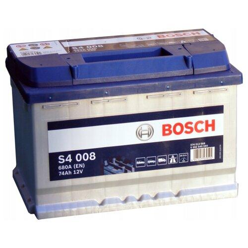 цена на Автомобильный аккумулятор Bosch S4 008 (0 092 S40 080)