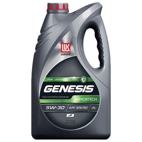 Моторное масло ЛУКОЙЛ Genesis Armortech JP 5W-30 4 л моторное масло лукойл genesis armortech fd 5w 30 4 л