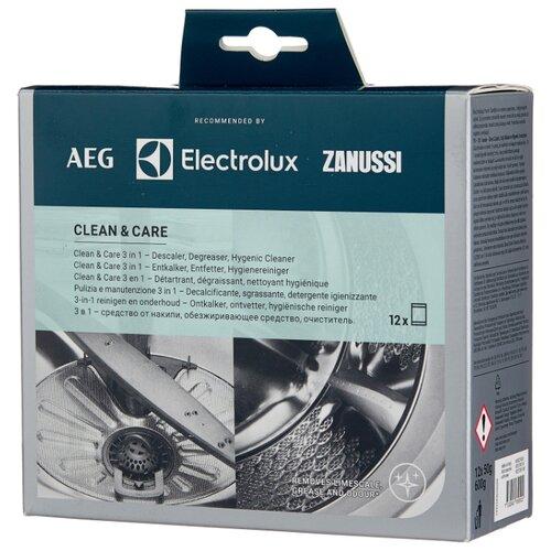 Electrolux Clean & Care 3 в 1 Набор для чистки стиральной машины 12х50 г