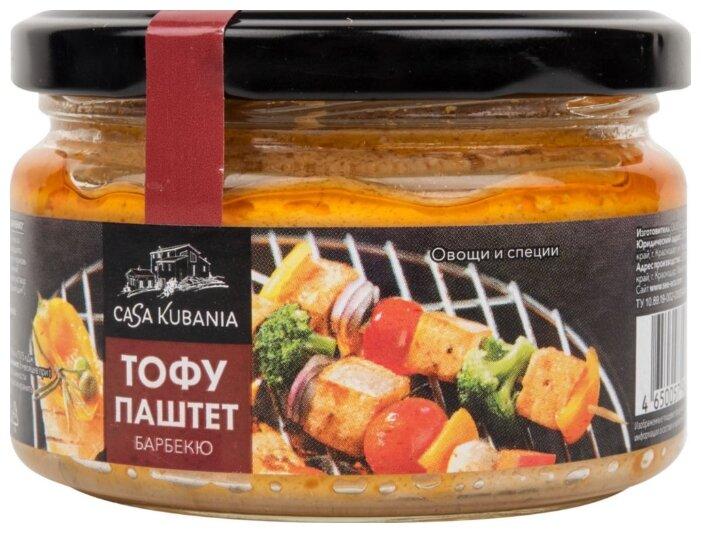 Casa Kubania Тофу паштет барбекю с овощами и специями, 200 г