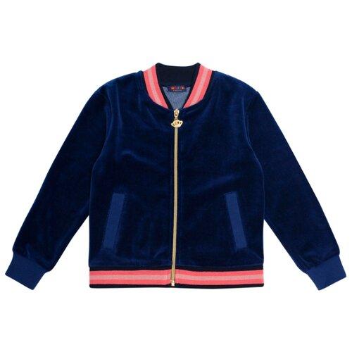 Фото - Куртка Chinzari Индонезия 30208076/11 размер 128/134, темно-синий chinzari платье chinzari детское трикотажное италия рыбки 128 134