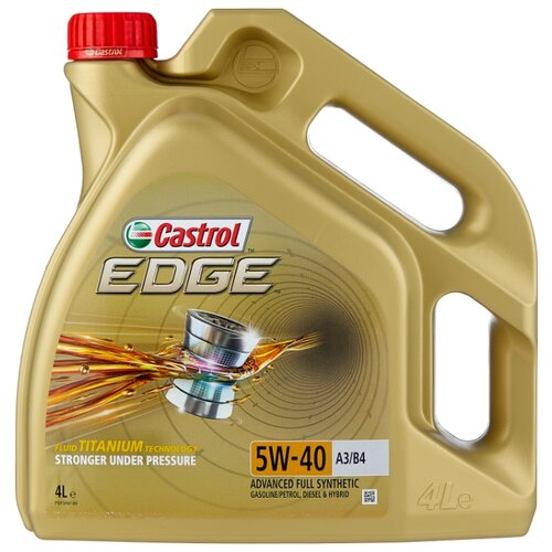 цена на Моторное масло Castrol Edge 5W-40 A3/B4 4 л