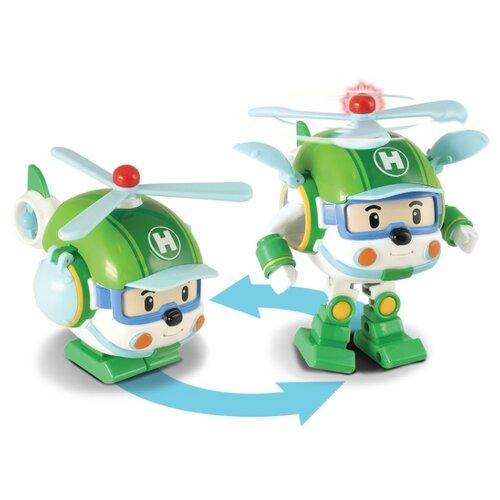 Купить Робот-трансформер Silverlit Robocar Poli Хелли 12, 5 см с подсветкой и аксессуарами зеленый, Роботы и трансформеры