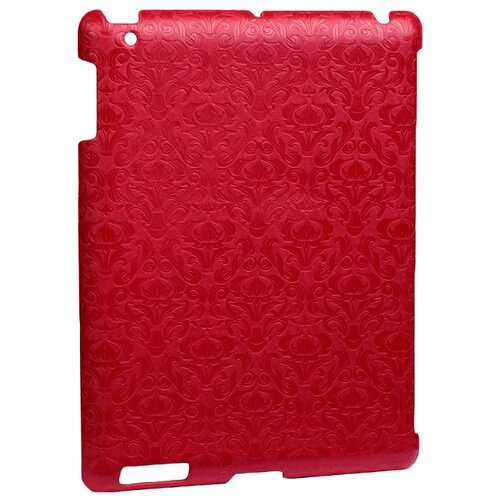 Чехол iBest Vignette BCVII4 для Apple iPad 2/3/4 красный