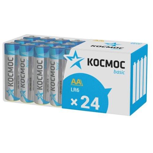 Батарейка КОСМОС LR6 Basic 24 шт картон