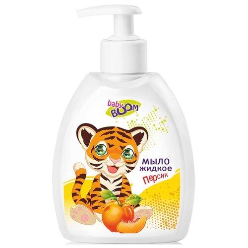 Купить IRIS cosmetic Baby Boom Мыло жидкое Персик 300 мл, Средства для купания
