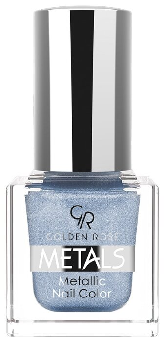 Лак Golden Rose Metals Metallic Nail Color, 6 мл