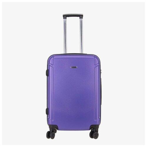 Чемодан Rion+ 446 фиолетовый ABS пластик 22
