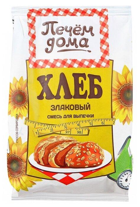 Печём Дома Смесь для выпечки Хлеб злаковый , 0.5 кг