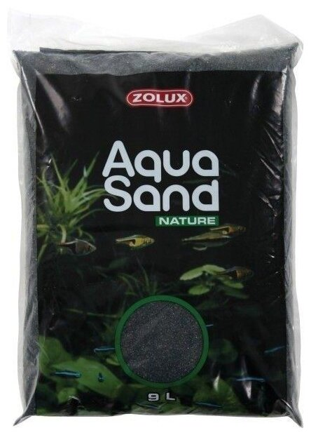Грунт ZOLUX Aquasand Nature Noir Diamant 9 л