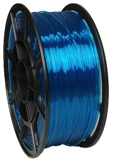 PETG пруток НИТ 1.75 мм голубой прозрачный