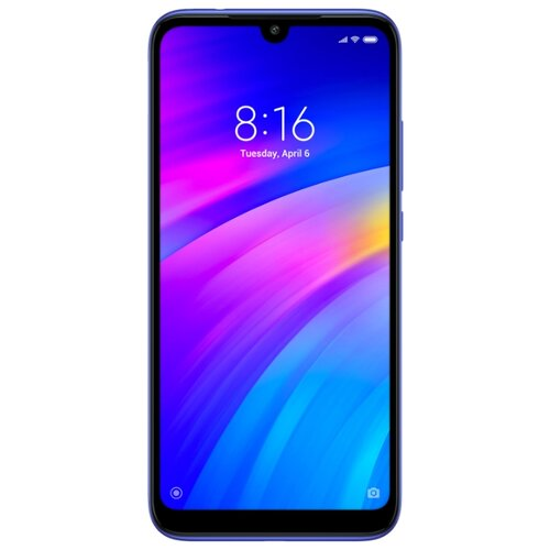 Смартфон Xiaomi Redmi 7 3/32GB синий смартфон