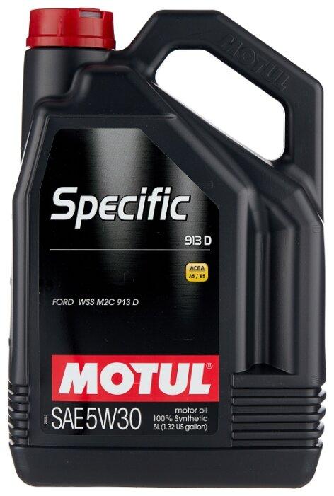 Моторное масло Motul Specific 913D 5W30 5 л — купить по выгодной цене на Яндекс.Маркете