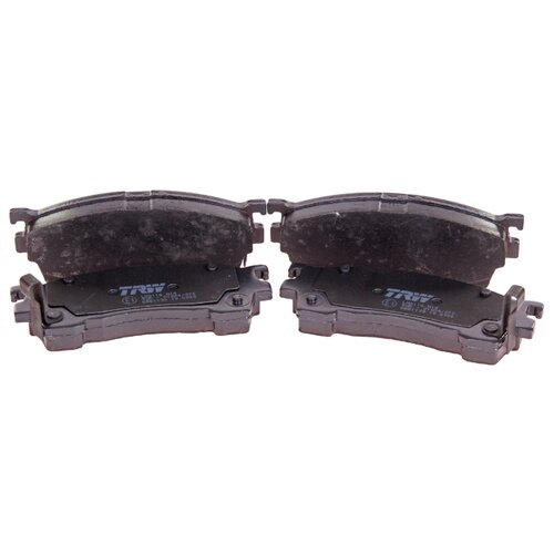 Фото - Дисковые тормозные колодки передние TRW GDB1139 для Mazda 626, Mazda Xedos, Mazda Premacy, Ford Probe (4 шт.) дисковые тормозные колодки передние ferodo fdb4446 для mazda 3 mazda cx 3 4 шт