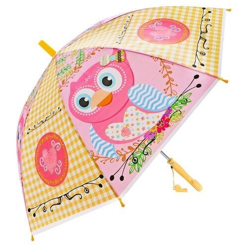 Зонт Mary Poppins желтый/розовый зонт mary poppins белый розовый