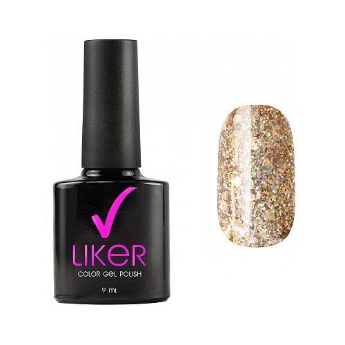 Купить Гель-лак для ногтей Runail Professional Liker, 9 мл, 4644