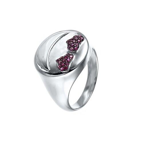 Фото - ELEMENT47 Широкое ювелирное кольцо из серебра 925 пробы с кубическим цирконием SR28056_KO_001_WG, размер 18 element47 широкое ювелирное кольцо из серебра 925 пробы с кубическим цирконием 05s2azr104804curi 001 wg размер 18