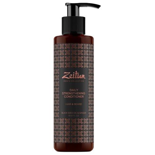 Zeitun Бальзам-кондиционер для волос и бороды укрепляющий с имбирем и черным тмином, 250 мл