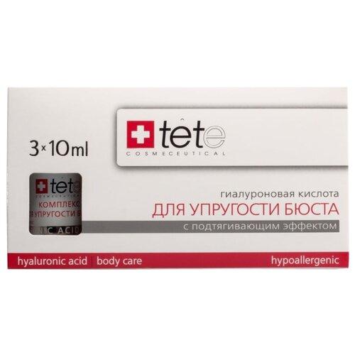 Средство для тела TETe Cosmeceutical гиалуроновая кислота для упругости бюста, 30 мл набор ковриков для ванной quelle tete a tete 1018354