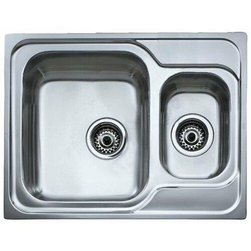 Врезная кухонная мойка 65 см TEKA Classic 1 1/2B полированная сталь