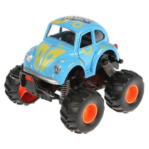 Купить Монстр-трак ТЕХНОПАРК W7733-144 11.5 см голубой, Машинки и техника