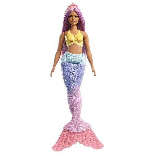 Фото - Кукла Barbie Dreamtopia Русалочка с сиреневыми волосами, 29 см, FXT09 кукла barbie dreamtopia