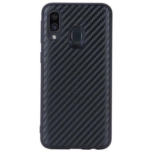 Чехол G-Case Carbon для Samsung Galaxy A40 черный