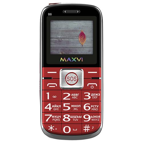Фото - Телефон MAXVI B8 красный телефон maxvi x650 красный