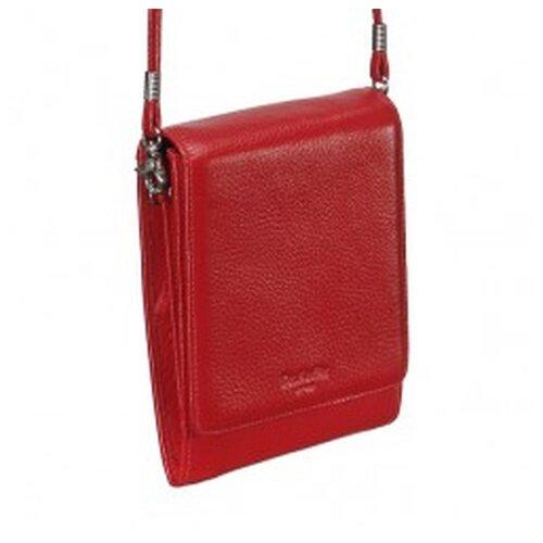 Нагрудный кошелек Dr.Koffer X510193-01, натуральная кожа красный кошелек reconds сompact натуральная кожа красный