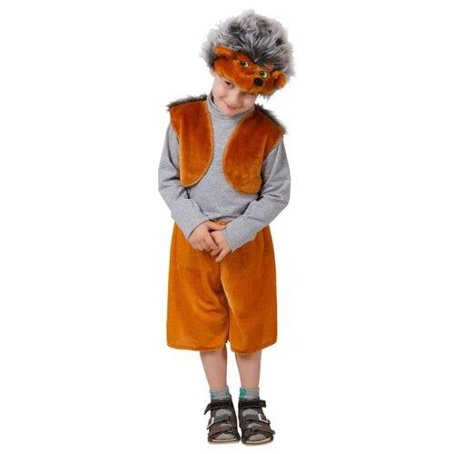 Купить Костюм Elite CLASSIC Колючий Ежик, коричневый, размер 28 (116), Карнавальные костюмы