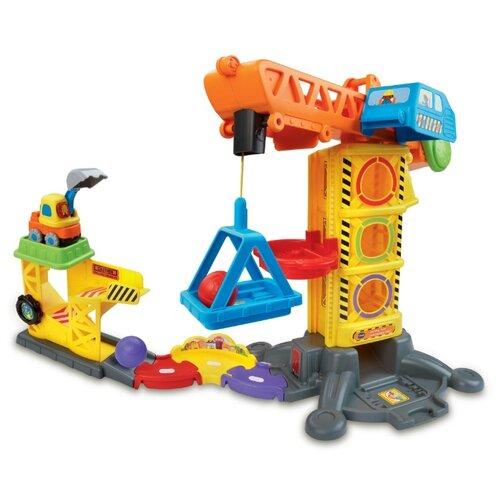 Купить VTech Бип-бип - Строительная площадка 80-180126 разноцветный, Детские парковки и гаражи