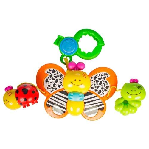 Купить Подвесная игрушка B kids Бабочка (004376B) красный/зеленый/желтый, Подвески