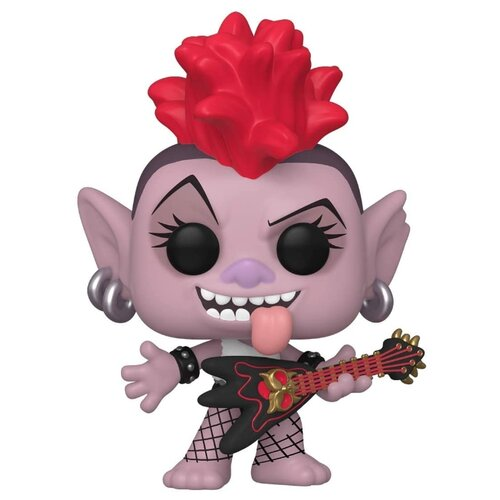 Фигурка Funko POP! Trolls World Tour: Королева Рокс 47001 фигурки героев мультфильмов trolls коллекционная фигурка trolls в закрытой упаковке 10 см в ассортименте