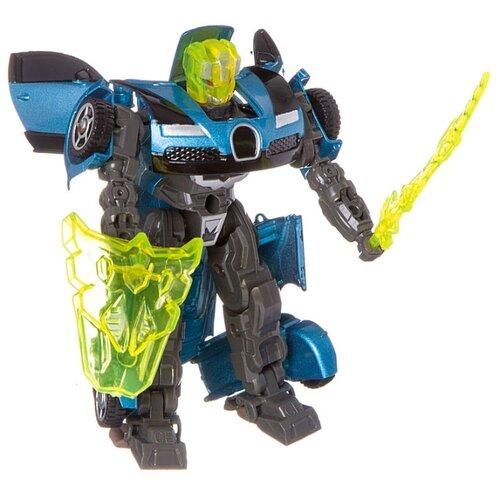 Купить Трансформер Play Smart Герой перевоплощения голубой/серый, Роботы и трансформеры