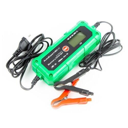 Зарядное устройство для автомобильных аккумуляторов AutoExpert BC-48,12В, до 4A, 9 стадий