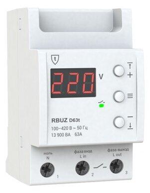 Реле контроля напряжения RBUZ D-63t