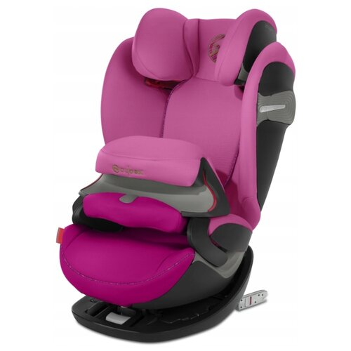 Автокресло группа 1/2/3 (9-36 кг) Cybex Pallas S-Fix, fancy pink автокресло cybex pallas m fix cobblestone
