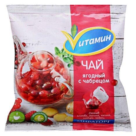 Vитамин Замороженная смесь Чай ягодный с чабрецом 300 г