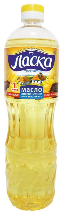 Ласка Масло подсолнечное рафинированное дезодорированное