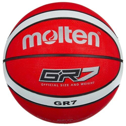 Баскетбольный мяч Molten BGR7-RW, р. 7 красный/белый/черный