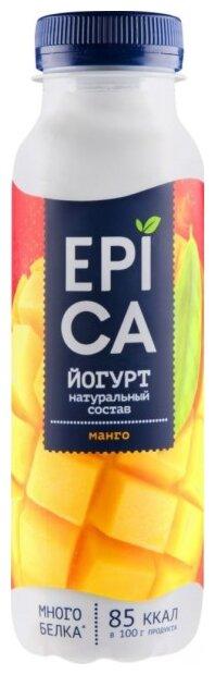 Питьевой йогурт EPICA манго 2.5%, 290 г