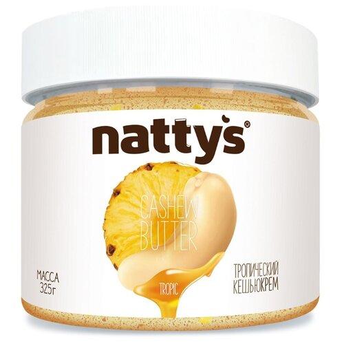 Nattys Паста Тропический кешью-крем Tropic 325 г