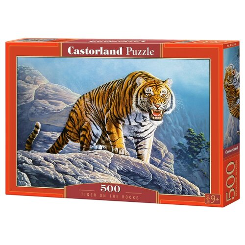 Фото - Пазл Castorland Тигр на скалах (B-53346), 500 дет. пазл castorland old sutter's mill b 52691 500 дет