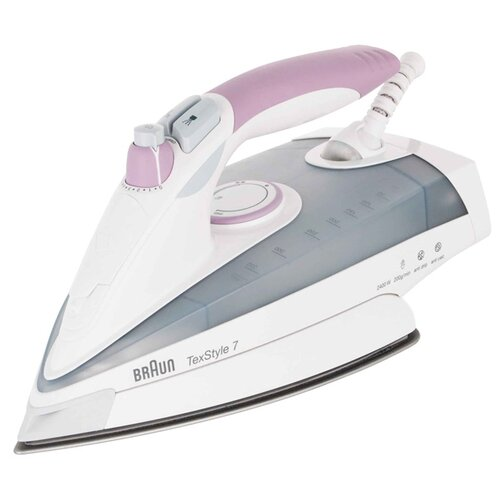 Утюг Braun TexStyle 7 TS755E белый/розовый утюг braun texstyle 5 ts505 розовый белый