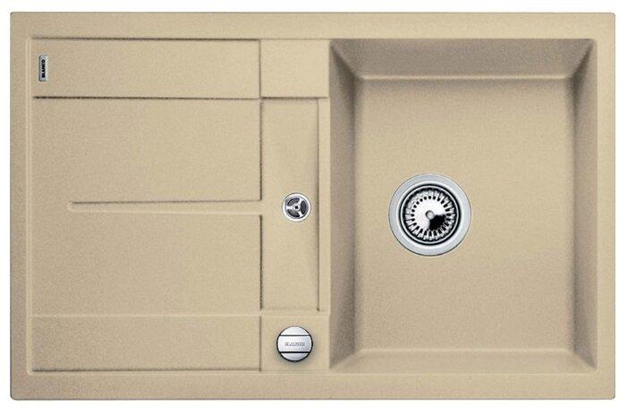 Врезная кухонная мойка Blanco Metra 45S 78х50см искусственный гранит