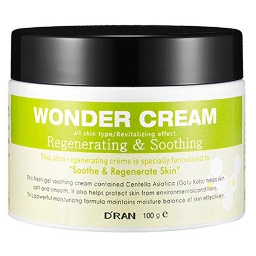 D'RAN Wonder Cream Regenerating & Soothing Крем для лица регенерирующий успокаивающий, 100 г regenerating azelaic elixir aravia отзывы