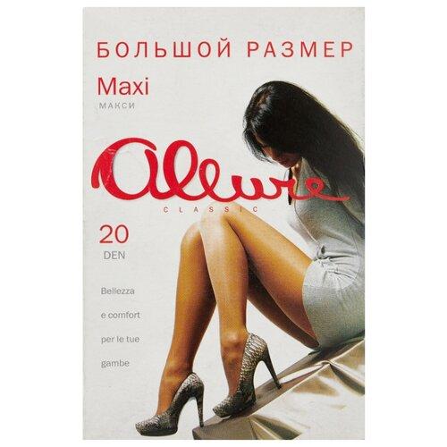 Колготки ALLURE Classic Maxi 20 den, размер 8, glase (золотистый) колготки 20 den черн allure